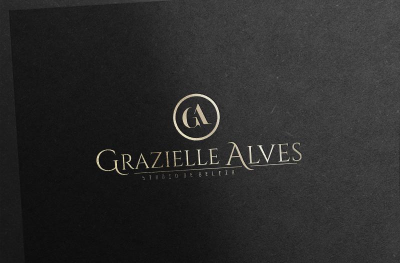 free logo mockup gold 748x210 - Desenvolvimento da Marca Grazielle Alves